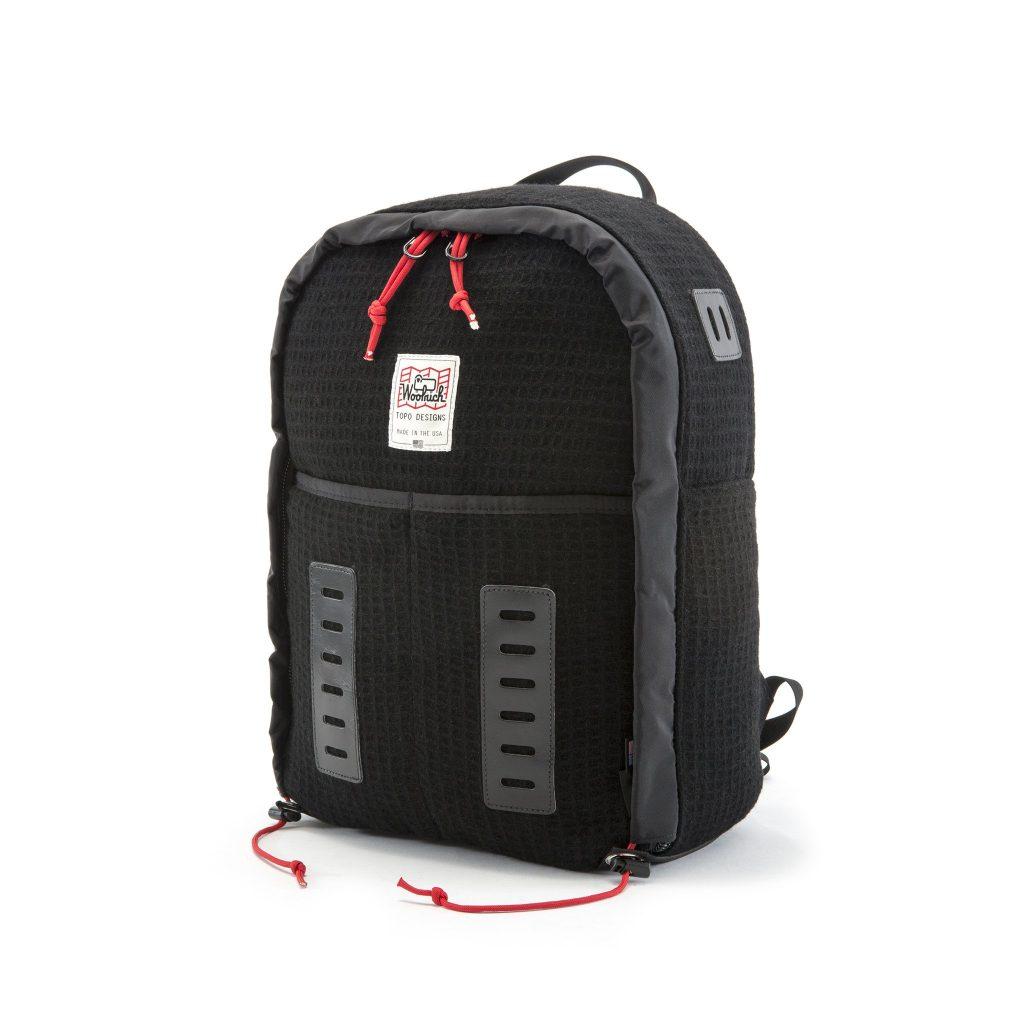 Topo Designs Woolrich Span Daypack Ladder Lash Tabs