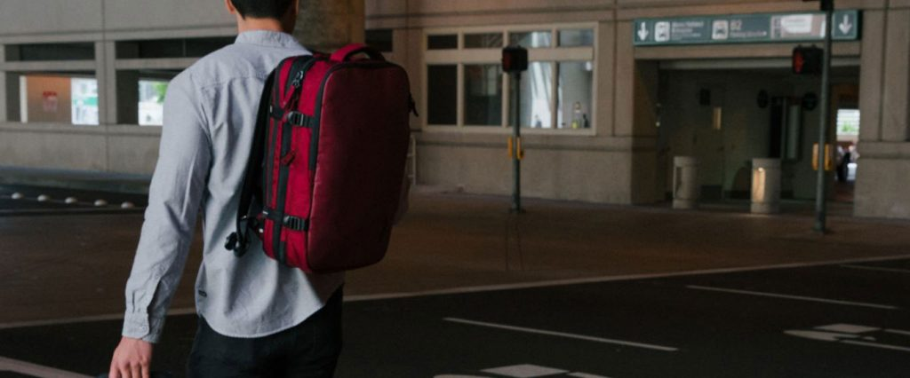 dcac49241c81 Minimalist travel ninja! The best carry-on backpacks - Urban Carry