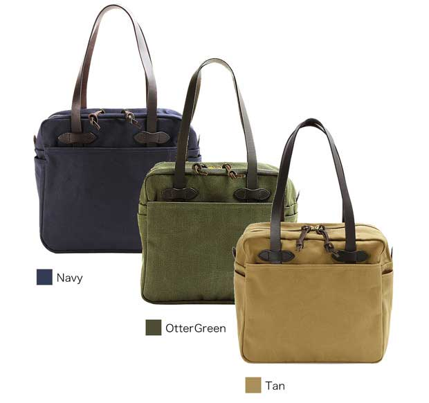 Filson Tote Bag with Zipper Review - available colors