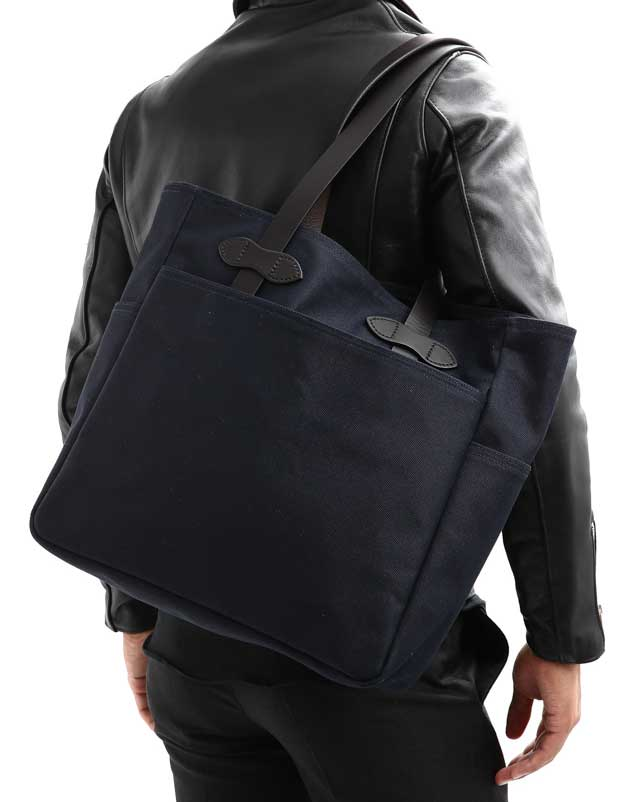 Filson Tote No Zipper - Navy