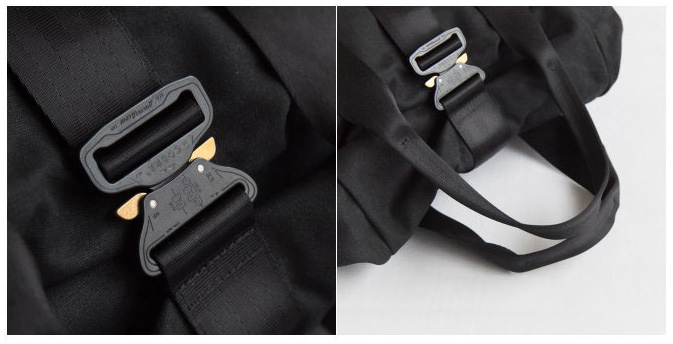 Austri-Alpin Cobra buckles on a Rolltop Backpack - the Defy Verbockel