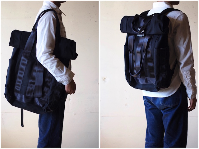 Defy Verbockel Rolltop Bag - Tote Mode