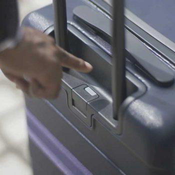 Muji Luggage Wheel Lock