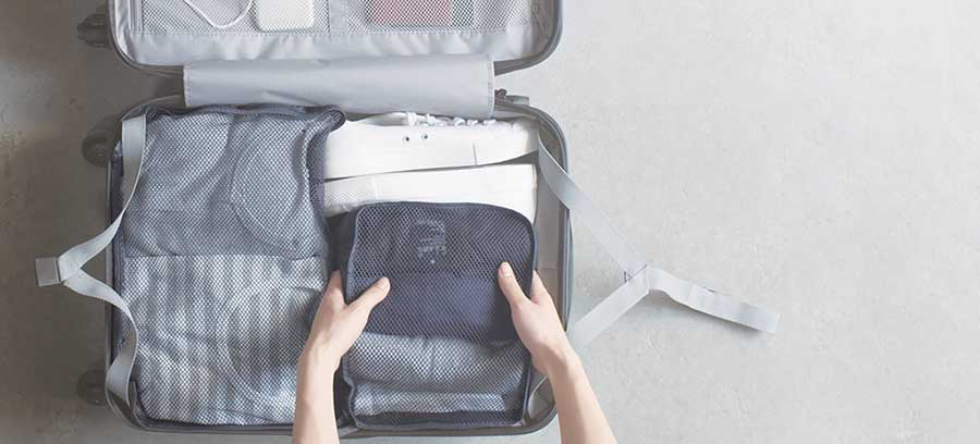 Muji rolling luggage review